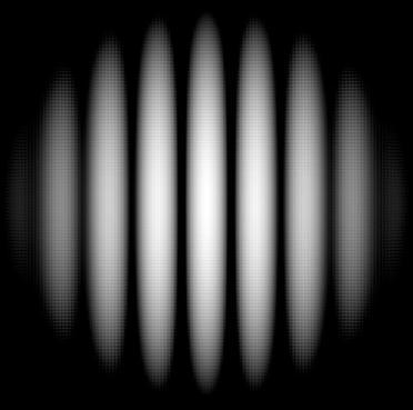 Alternate dark and light bands.